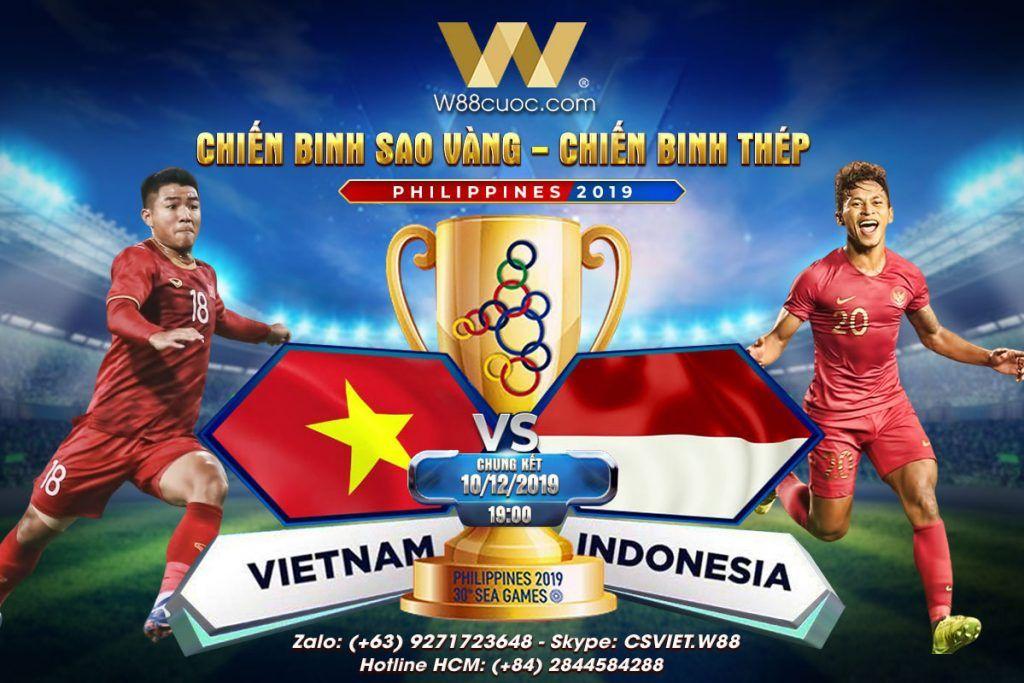 soi kèo U22 Việt Nam và U22 Indonesia chung kết Seagames 30