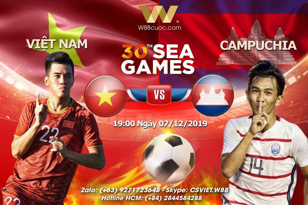 Soi kèo U22 Việt Nam vs U22 Campuchia, 19h00 ngày 07/12, Sea Games 30