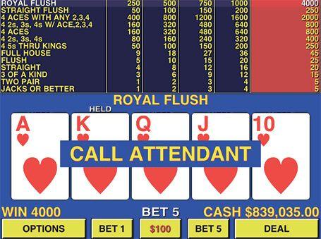Hướng dẫn chơi poker video (Phần 12)