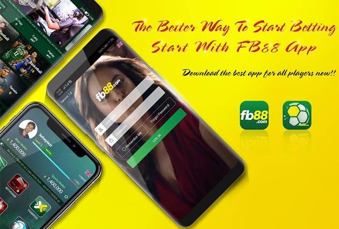 App thể thao FB88 phiên bản cho di động cá cược tiện lợi hơn