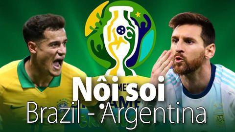 DỰ ĐOÁN, SOI KÈO BRAZIL VS ARGENTINA, BÁN KẾT COPA AMERICA 2019