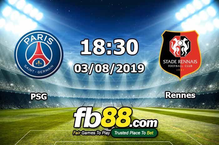 Nhận Định Soi Kèo PSG Vs Rennes Siêu Cup Pháp 18h30 Ngày 03-08