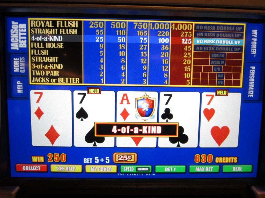 Hướng dẫn chơi poker video (Phần 16)