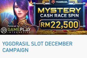 Cập nhật khuyến mãi: Spin Race Cash Mystery Tháng 12
