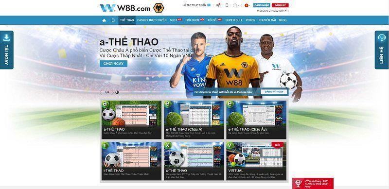 Nhà cái W88 trở thành nhà cái số một trên thị trường cá cược trực tuyến hiện nay
