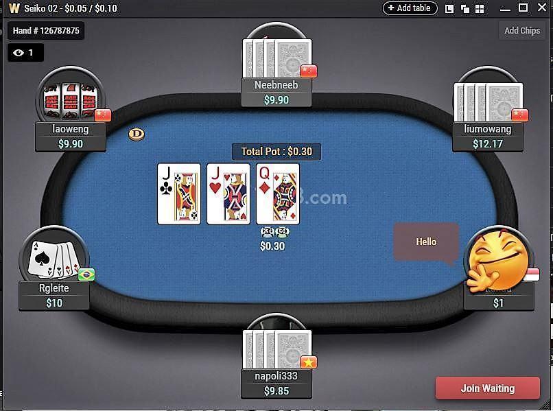 Cách tải xuống và chơi xì phé Omaha trên ứng dụng Poker W88