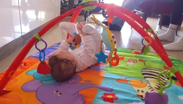 Activity report for Help your baby learn to roll from tummy to back! in Wachanga!