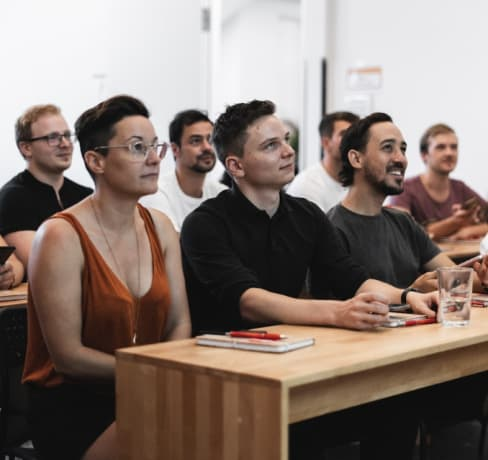 Meet four students of the part-time course in Berlin