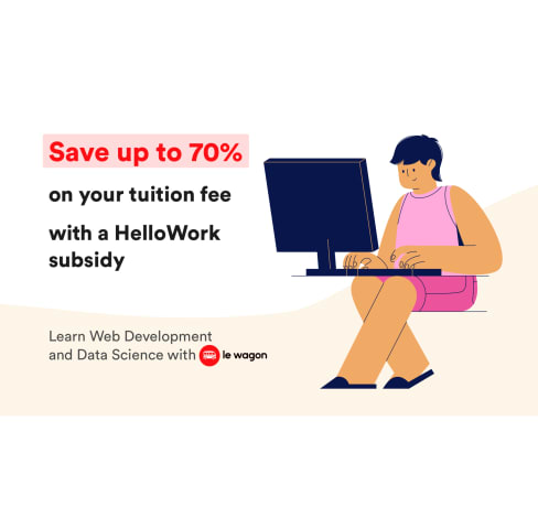 Le Wagon Tokyo bootcamps are now eligible for HelloWork subsidy!
