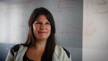 Karen Hoyos, estudante do Le Wagon Berlim