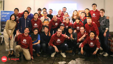 Infographic: the outcomes of our coding bootcamp in Tokyo
