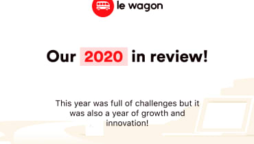 Le Wagon Brazil's 2020 in review!