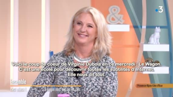 """""""Le Wagon vous met sur les rails""""  Dans l'émission """"Ensemble, c'est mieux !"""" de France 3"""