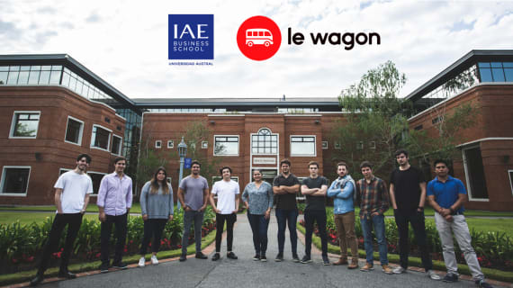 Experience Le Wagon & IAE Business School