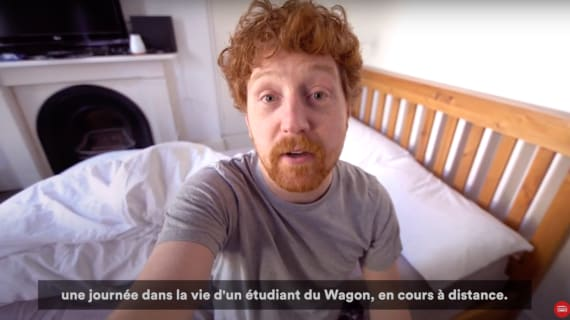 A day in the life of a Le Wagon remote student