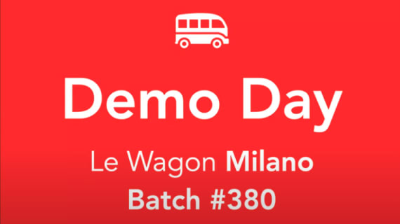 Watch our last demoday!