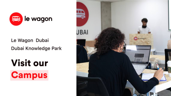 Have a look at our campus in Dubai!