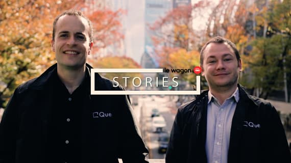 Alumni Story: Julien and Rob, software developers at Queue