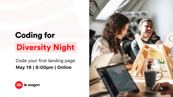 Participate in the Coding for Diversity Night