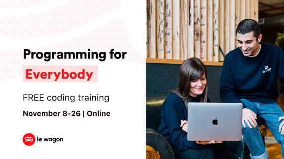 Free program | Learn back-end programming