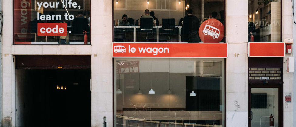 Le Wagon Coding Bootcamp Campus Entrance