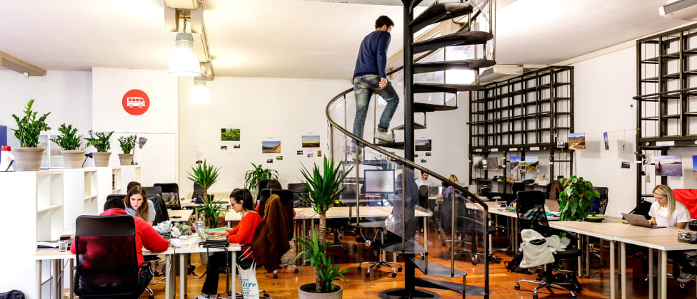Cowork escaliers