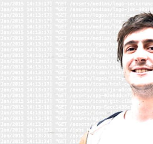 Portrait d'un développeur junior formé au Wagon