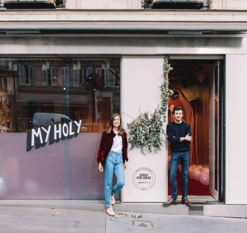 Comment Fiona et Gabriel ont co-fondé My Holy, une marque de tampons en coton bio
