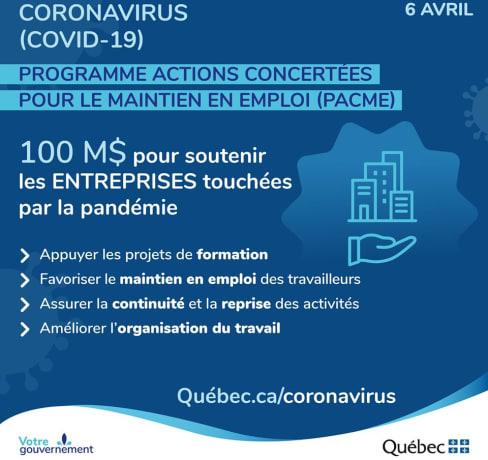 Une nouvelle subvention du Gouvernement du Québec pour combler le déficit des compétences numériques