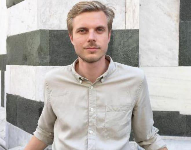 Karl Bergstrom, estudante do Le Wagon Copenhague