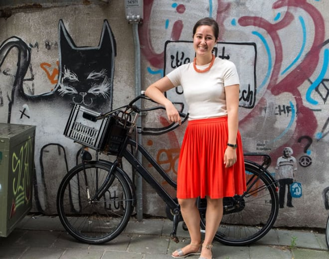Carolyn Johnson, alumni du Wagon Amsterdam