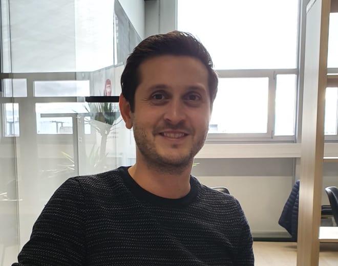 Sinan Ucak, estudante do Le Wagon Lausanne