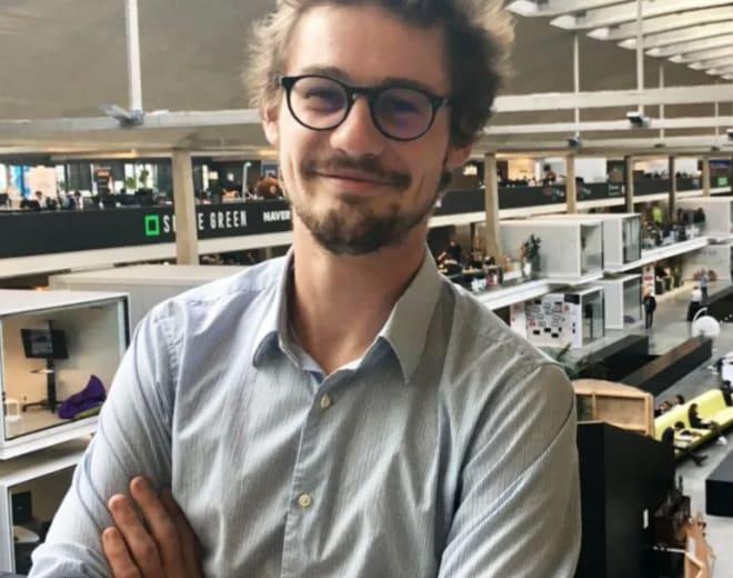 Remi Duvoux, alumni du Wagon Paris