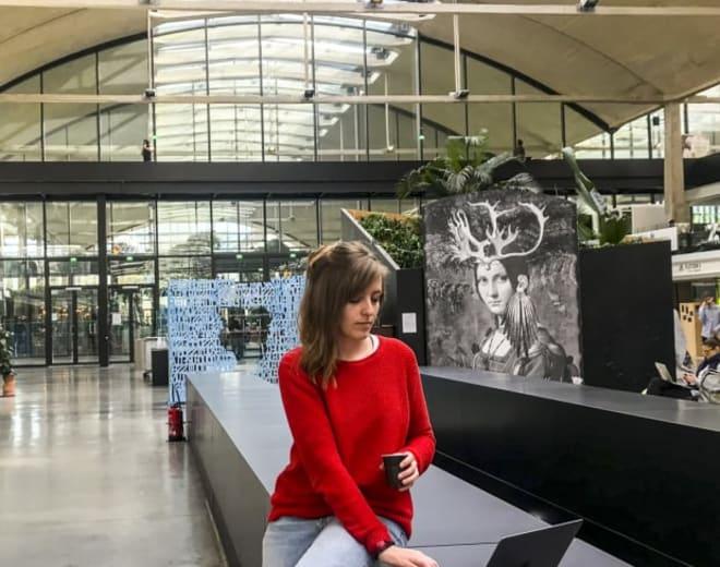 Clarisse Faure, alumni du Wagon Nantes