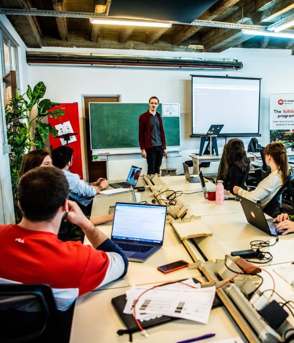 En 9 semanas intensivas, capacítate como desarrollador de software en Le Wagon Bruselas.