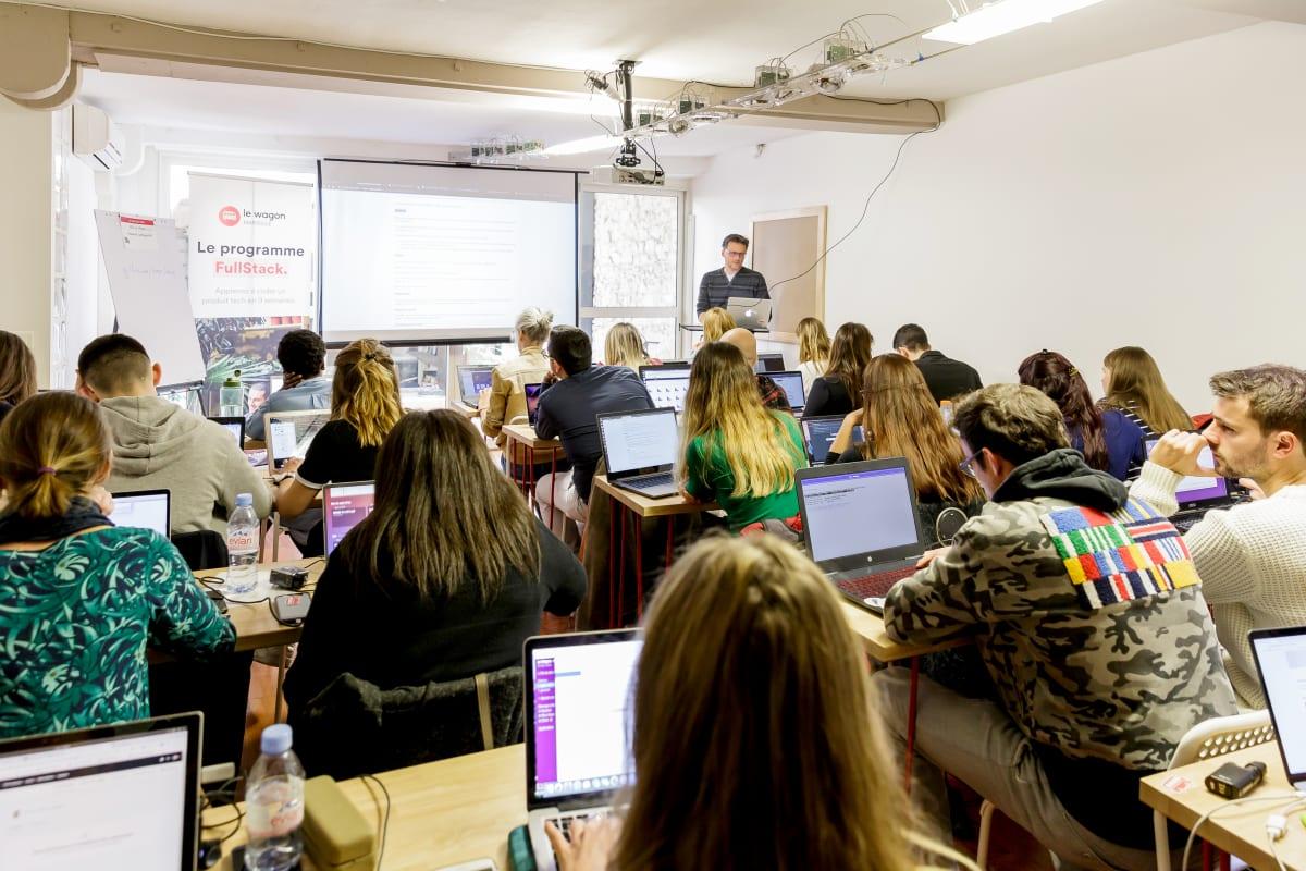 Diese Schüler programmieren bei Le Wagon Marseille
