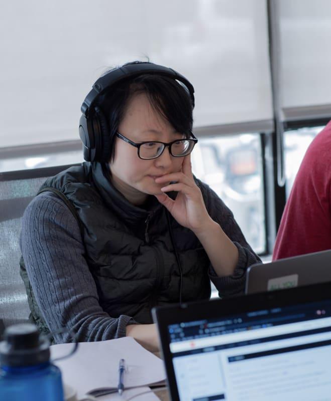 Des étudiants qui apprennent à coder au Wagon  Toronto