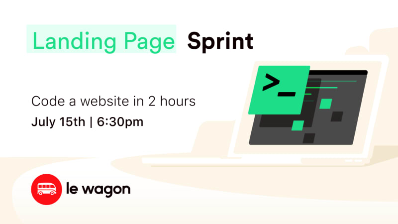 Landing Page Sprint - Build your landing page in 2 hours
