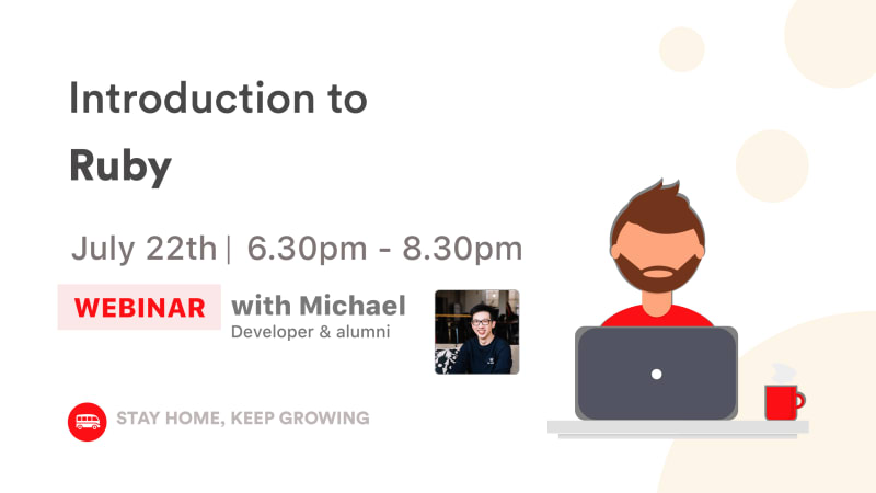 [WEBINAR] Introduction to Ruby 🚀
