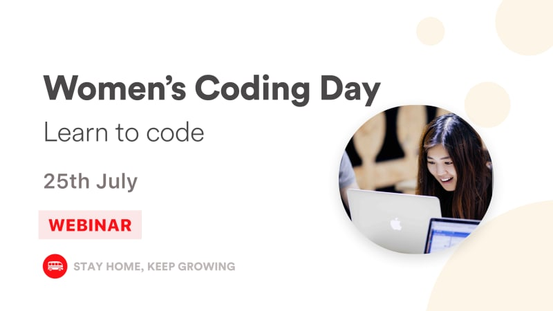 Women's Coding Day - Learn to code for free in July!