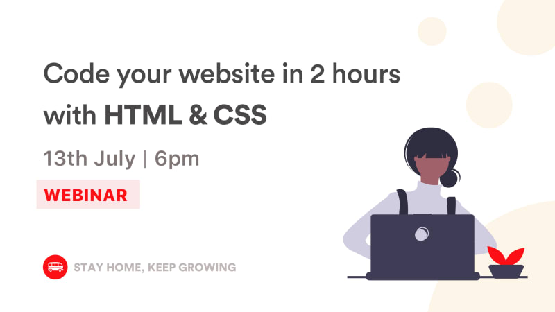 Landing Page: Learn to build your first web page