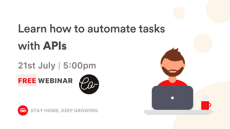 [WEBINAR] Learn how to automate tasks with APIs