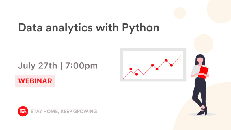 [webinar] Data analytics with Python