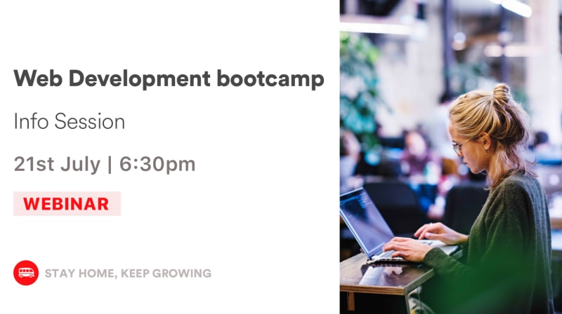 Web Development Bootcamp - Info Session