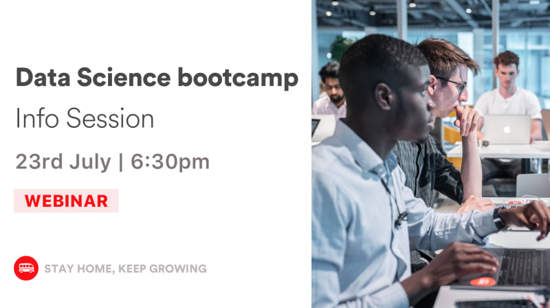Data Science bootcamp - Info Session