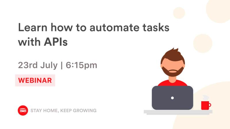 [Webinar]API for beginners