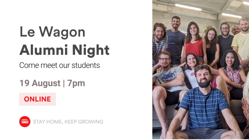 English Event - Alumni Night | Meet our Alumni and Team! | Le Wagon SP