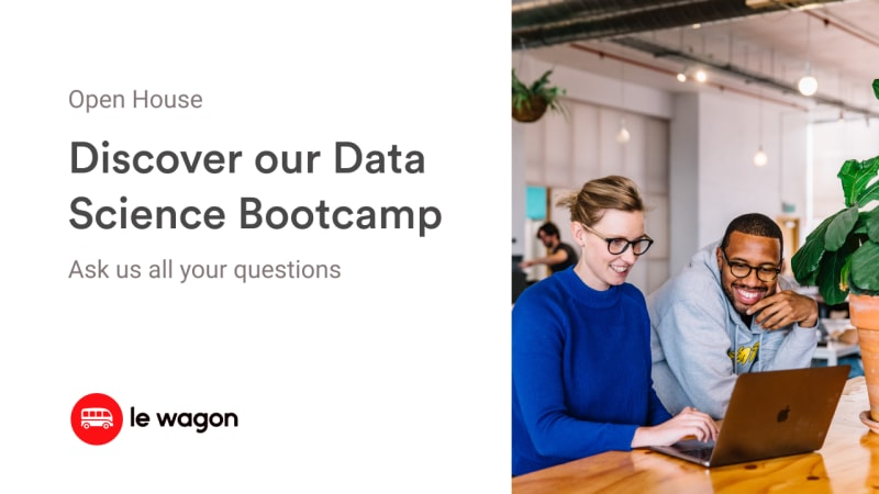 [Remote] Info session | Discover our Data Science Bootcamp