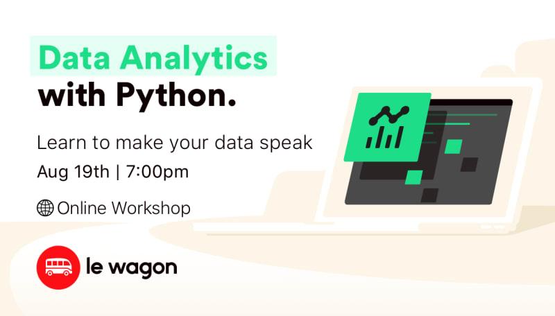 Data Analytics with Python - Online Workshop