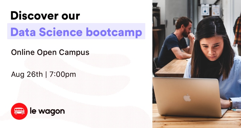 Online Open Campus - Discover our Data Science Bootcamp!